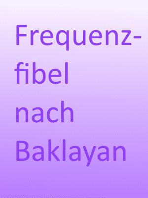 Frequenzfibel nach Baklayan Vorschau-Cover
