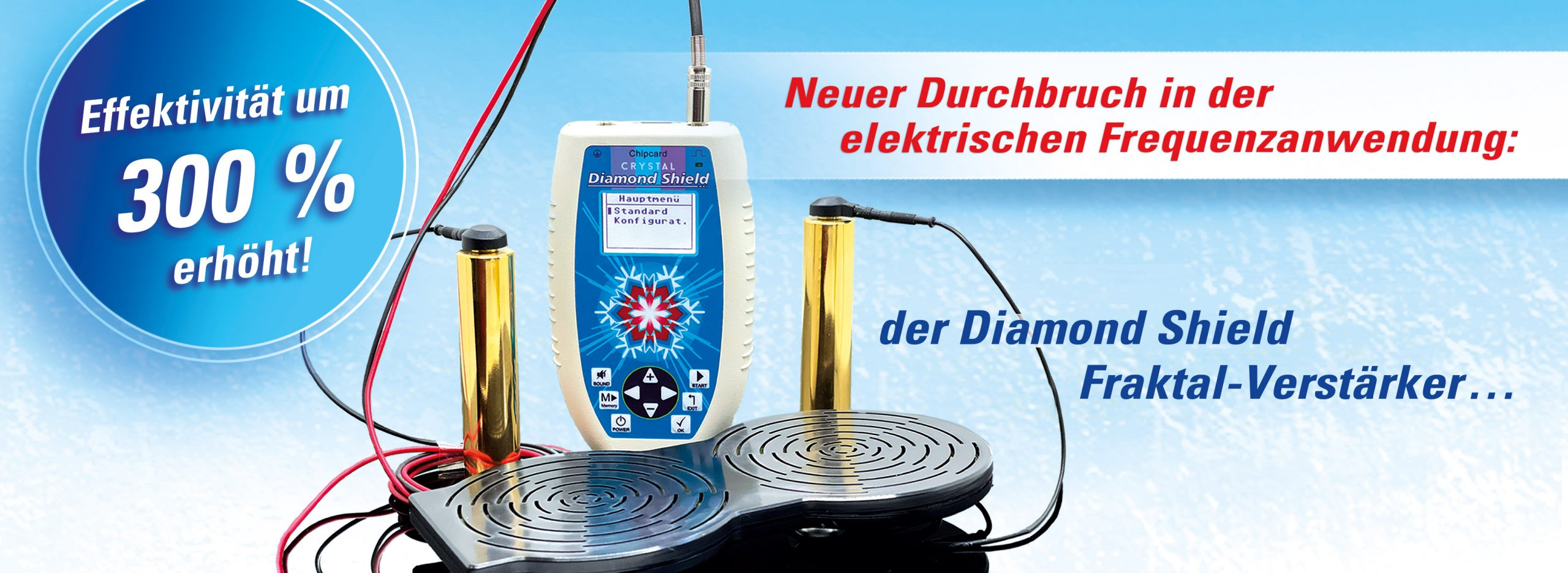Diemond Shield Fraktal-Verstärker Slider